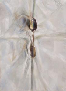 Джулиан Мерроу-Смит. Серебряная ложка на белой скатерти