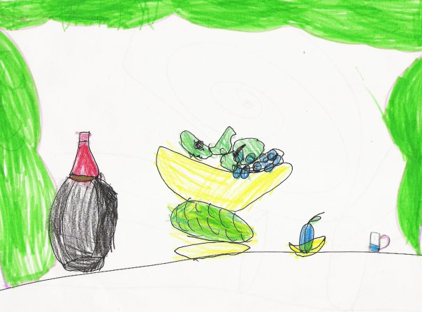 натюрморт картинки детские: