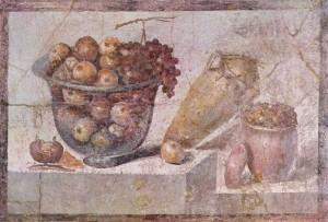 Фреска из Помпей, I век н.э.