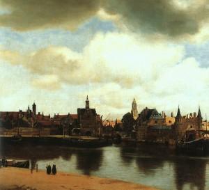 Ян Вермеер Делфтский. Вид Делфта, 1660 г.