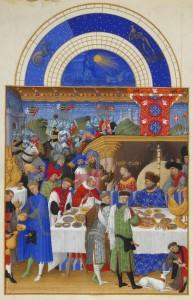 Великий часослов герцога Беррийского. Братья Лимбург, 1409-1415