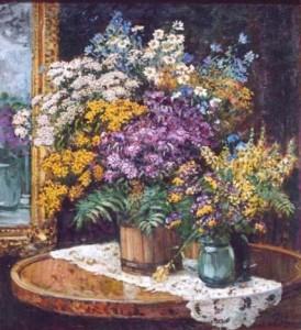 А. Герасимов. Полевые цветы.