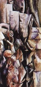 Ж.Брак Скрипка и палитра. Скрипка и палитра, 1909-10, музей Гуггенхейма