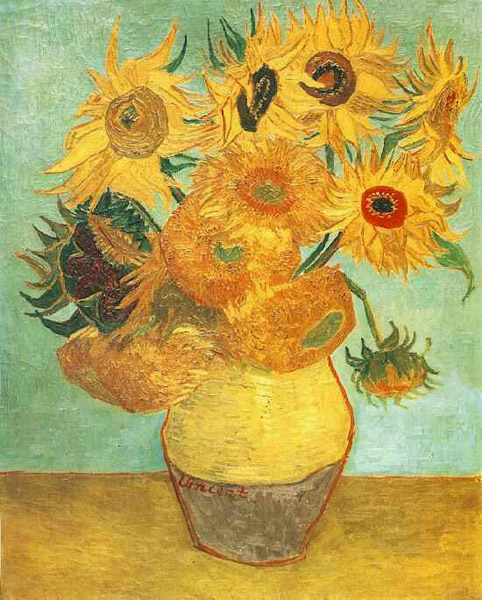 Винсент Ван Гог. Ваза с двенадцатью подсолнухами.