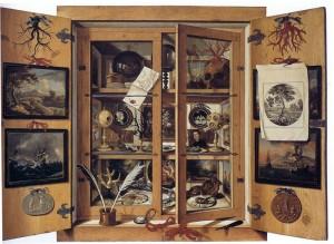 Франс Франкен II. Собрание произведений искусства и диковин, около 1636. Вена, Музей истории искусств.