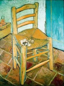 Винсент ван Гог. Стул и трубка. 1888, х.,м., 91.8 ? 73. Лондонская национальная галерея.