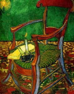 Винсент ван Гог. Стул Поля Гогена. 1888, 90,5 ? 72,5 см, х.,м., Музей ван Гога, Амстердам.