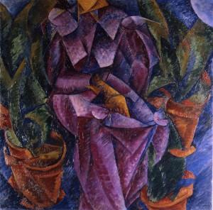 Умберто Боччони. Спиральная композиция. 1913 г.