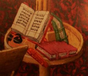 """""""Путешествие души"""" XV век, Франция, прегамент, фрагмент"""