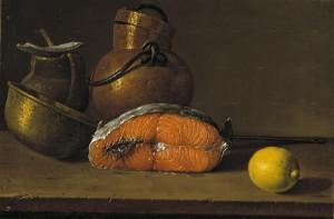 Луис Мелендес. Натюрморт с рыбой и лимоном, 1772, Museo del Prado, Madrid