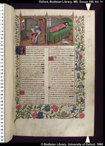Guillaume de Lorris and Jean de Meung, Le Roman de la Rose, in a manuscript made for Louise of Savoy, mother of Francis I, with many miniatures in the style of Robinet Testard, French, late 15th century.