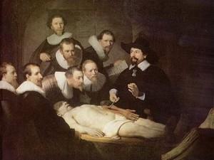 Рембрандт. Урок анатомии доктора Тульпа. 1632 г.