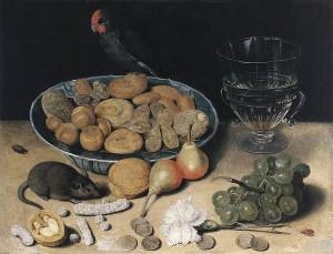 Георг Флегель. Натюрморт с десертом.