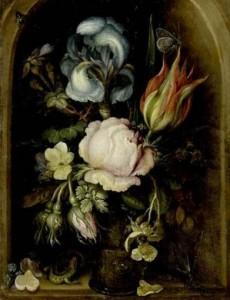 Рулант Саверей. Натюрморт с цветами