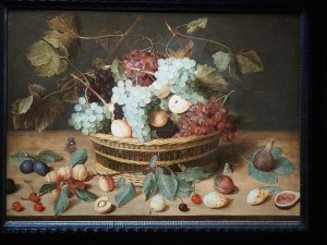 Якоб ван Хюлсдонк. Антверпен 1582 - Антверпен 1647. Натюрморт с корзиной фруктов