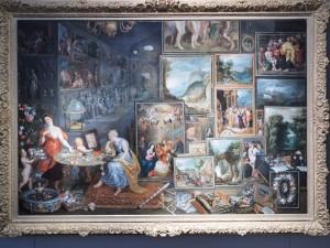 Boets J. Работал во Фландрии с 1635 - и после 1660. Аллегория зрения и обоняния