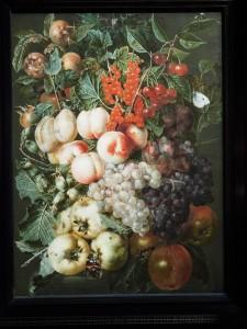 Jan van Kessel (1620-1661). Ян ван Кессель. Натюрморт с фруктами и бабочками